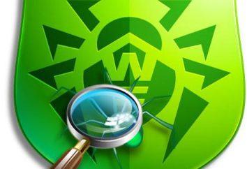 """Utilidad """"Doctores de la Web"""" – un software peligroso virus oponente"""