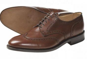 Stylowe Oksfordzie mężczyzn – buty w każdej chwili