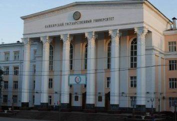 Instytut Prawa, BSU. Bashkir State University (BSU, Ufa)