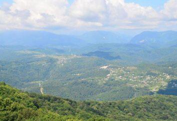 """Soczi ciekawych miejsc: góra Ahun, śpiewające fontanny, wodospady, park """"Riviera"""", wioska olimpijska"""