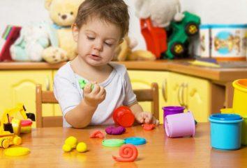 Sensoryczny rozwój dzieci 2-3 lat. Gry dla dzieci rozwoju sensorycznego