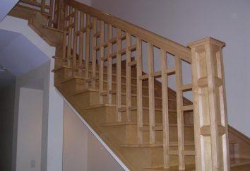 Como fazer um corrimão para as escadas com suas mãos. Corrimãos para escadas de madeira