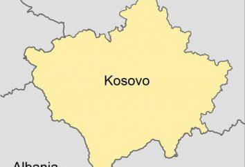Kosovo (República): la capital, población, superficie