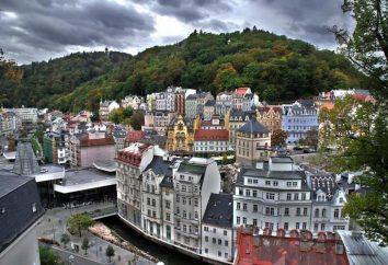 sanatoriums de Karlovy Vary: photos et commentaires