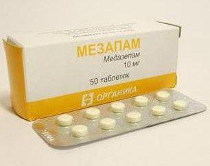"""Il farmaco """"Mazepam"""": istruzioni per l'uso. Recensioni sul farmaco """"Mezapam"""""""