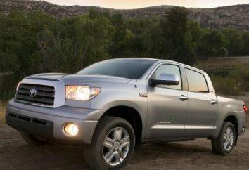 Toyota Tundra. Caractéristiques et description