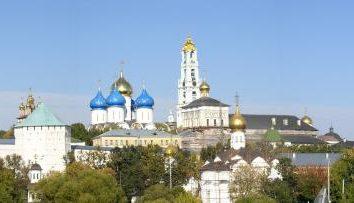 Ławra w Siergijew Posad. Największy prawosławny męski klasztor stauropigia