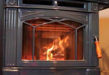 Fogão de ferro fundido para interrogatório – casa de campo de aquecimento econômico