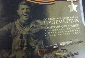 Ovcharenko Dmitry Romanovich, Héros de l'Union soviétique