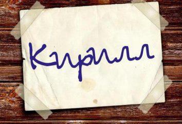 """Męskie imiona na """"K"""": listy od wartości znamionowej"""