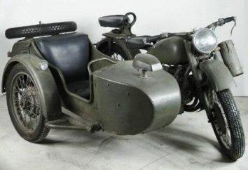 Motocykl M-72. Radziecki motocykl. Retro motocykl M-72