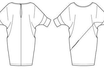 Come tagliare un vestito? Stile larghezza tessuto del vestito, i modelli di layout. Cucire per principianti