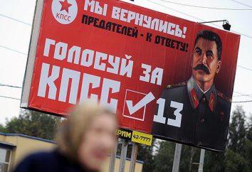 Partido Comunista da Justiça Social: história, líderes do programa