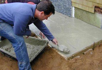 ¿Cómo se prepara la mezcla de cemento y arena?