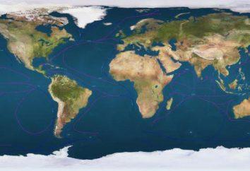 Les propriétés des eaux océaniques. Partout il y a dans l'océan, ils sont les mêmes?