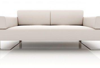 Sofá moderno: uma visão geral, modelos, visualizações e comentários