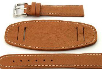 Bracelet en cuir: la qualité, la couleur, la taille