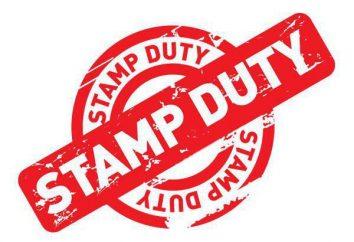 Quando o imposto de selo foi estabelecida?
