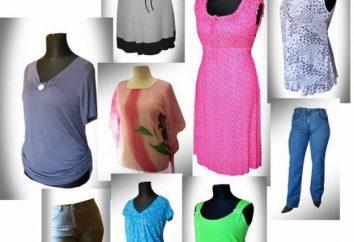 Dopasować rozmiar odzieży damskiej: Amerykańska, Europejska, Rosyjska siatkę