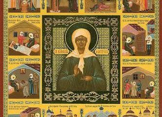 Tal como se aplica a las reliquias Matrona de Moscú? Una visita de las reliquias Matrona de Moscú