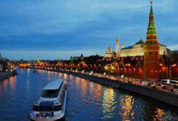 Escursione in barca sul fiume di Mosca – una forma popolare di svago nella capitale russa