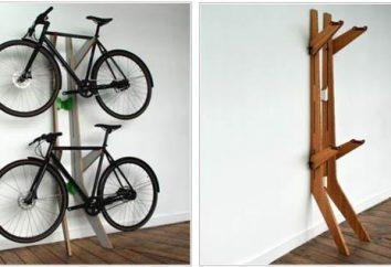 Rateliers à vélo: les principaux types de