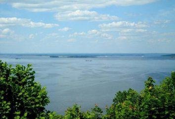 Nizhnekamsk réservoir Description, vacances, photos