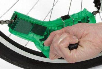 Maszyna do czyszczenia łańcucha rowerowego: budowa, zalety, porady niezależna produkcja