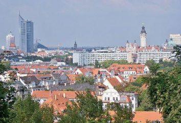 As atrações famosas em Leipzig