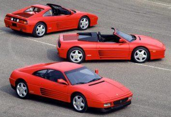 Ferrari 348: caractéristiques techniques et description de la légendaire voiture de sport italienne