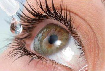 Algoritmo instillazione di gocce negli occhi di adulti e bambini