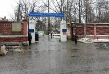 Rusakovskaya szpital: zdjęcia i opinie