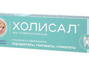 « Dental Holisal » – gel pour soins bucco-dentaires: mode d'emploi, analogues et commentaires