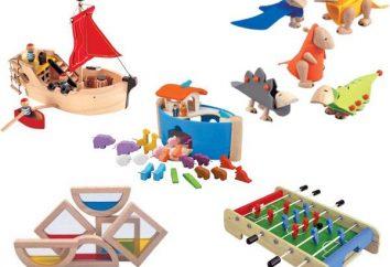 Shopping per i giocattoli. Insegnare a un bambino e la pulizia ordine