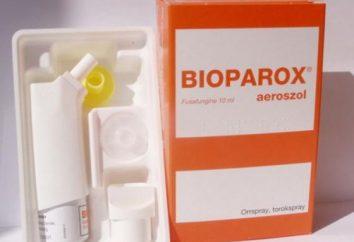 """""""Bioparox"""" nel seno. Trattamento della sinusite """"bioparoks"""" – recensioni"""