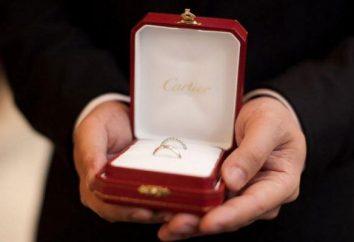 "Ile obrączki ""Cartier""?"
