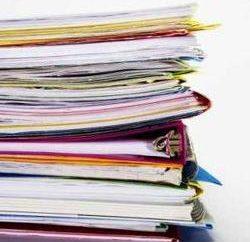 Verwaltungsdokumente, vom Entwurf bis zur Ausführung