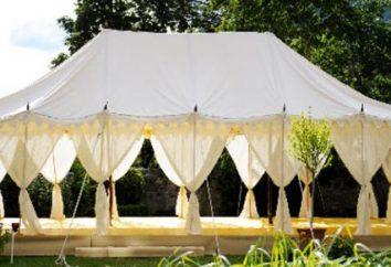 Jak zrobić namiot własnymi rękami