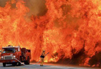 Tocar e belas saudações bombeiro