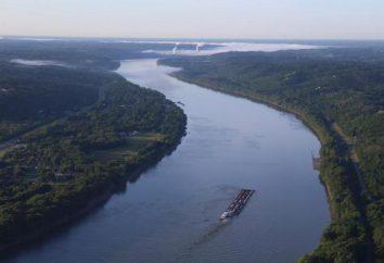 Ohio River: uma descrição da natureza do fluxo