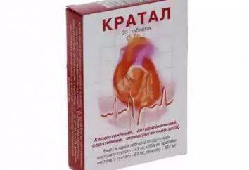 """Tabletki """"Kratal"""": instrukcja, skład, cena"""