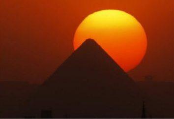 Wie eine Pyramide zu machen, oder die siebten Wunder der Welt zu Hause?