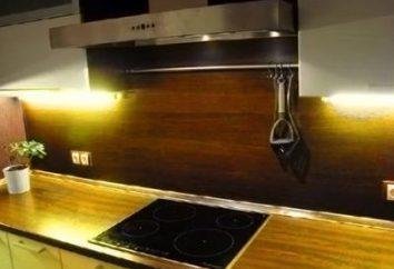 Tablier de cuisine moderne de MDF