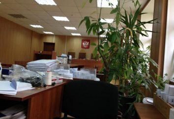 Presnensky Tribunal Distrital de Moscou: website, endereço, telefone