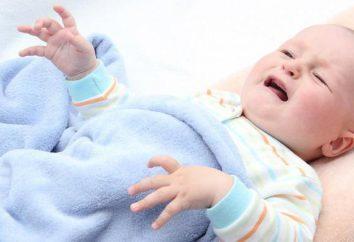 cólicas abdominais na criança: provoca desconforto