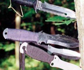 Wurfmesser – Sport- und Militärwaffen
