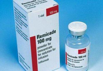 """Lek """"Remicade"""": instrukcje użytkowania, real"""