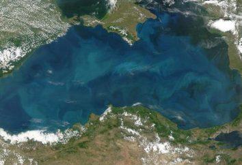tamaño del Mar Negro: profundidad, anchura y longitud