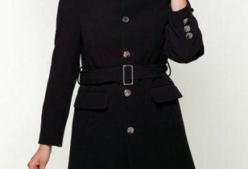 Was mit einem schwarzen Mantel zu tragen, stilvoll aussehen?