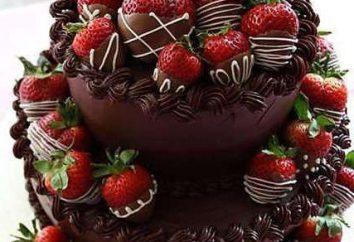 Ciasto czekoladowe z truskawek: najlepsze pomysły